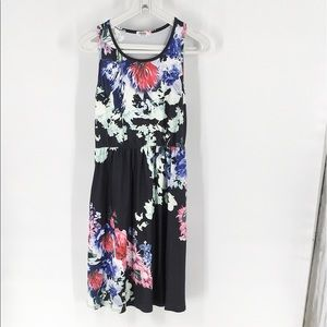 Ours x REVOLVE Sleeveless Floral Dress L